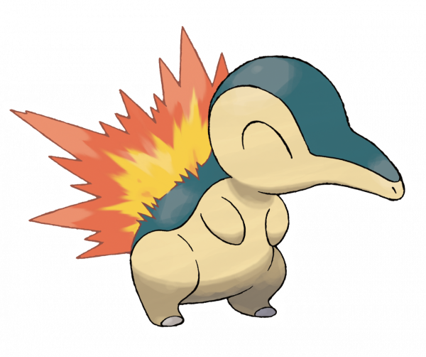 Official artwork of Cyndaquil