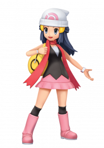 Official artwork of the female player