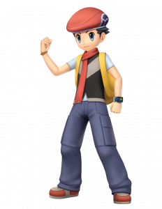 Official artwork of the male player