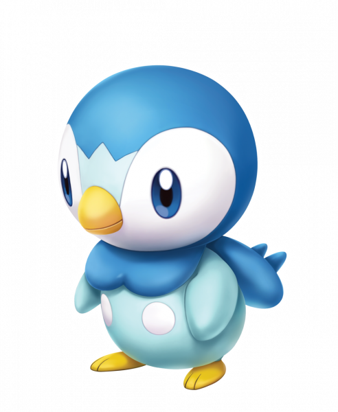 Official artwork of Piplup
