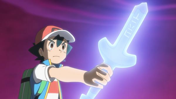 Ash wielding the Rusty Sword