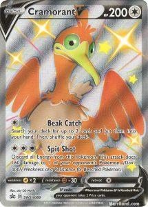 Shiny Cramorant V card