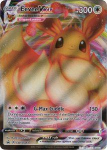 Eevee VMAX TCG card