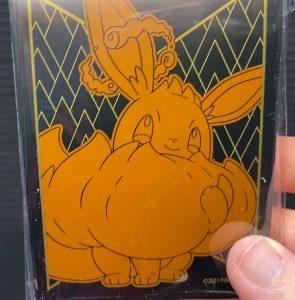 Gigantamax Eevee sleeves for Pokémon TCG cards