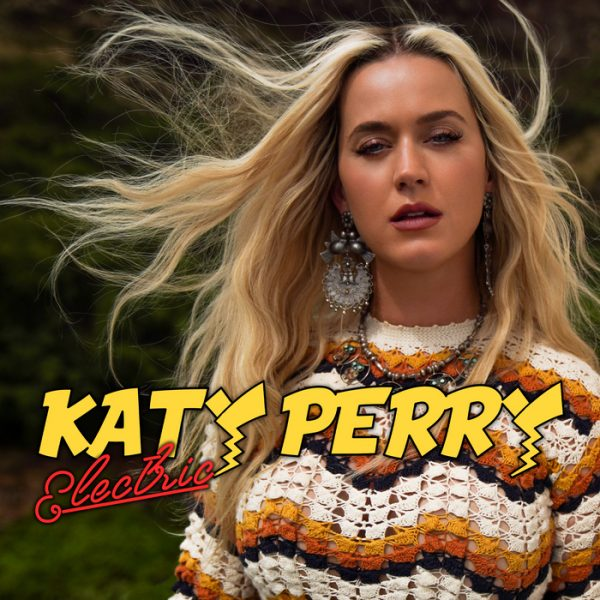 Katy Perry Electric in text with Katy Perry