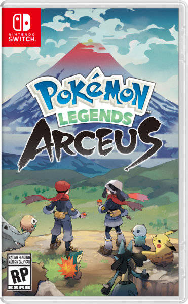 Pokémon Legends: Arceus Boxart