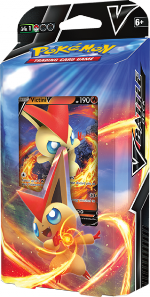 Battle Deck featuring Victini V on it