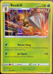 Beedrill card