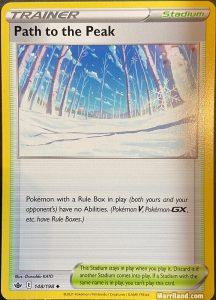 Path to the Peak card