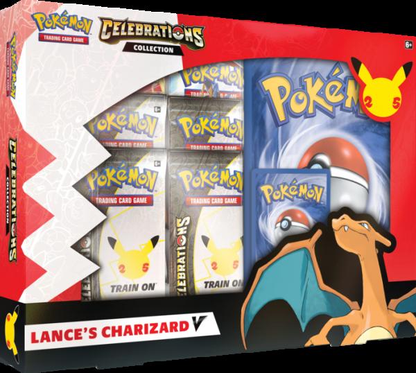 Pokémon TCG: Celebrations Collection—Lance's Charizard V