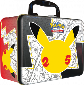 Pokémon TCG Celebrations Collector Chest that kind of looks more like a lunch box