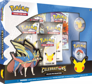 Pokémon TCG: Celebrations Collection—Deluxe Pin Collection