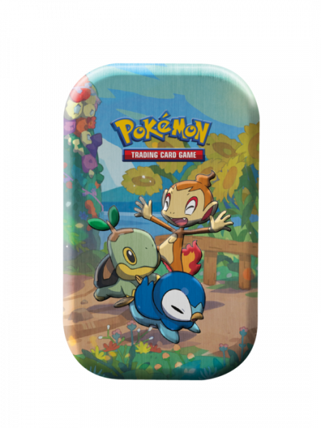 Mini Tin with Turtwig, Chimchar, and Piplup