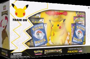Pokémon TCG: Celebrations Premium Figure Collection—Pikachu VMAX