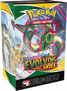 Build & Battle Box featuring Rayquaza
