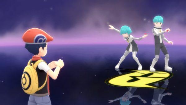 Battle against Team Galactic