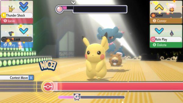 Pokémon Contest with Pikachu