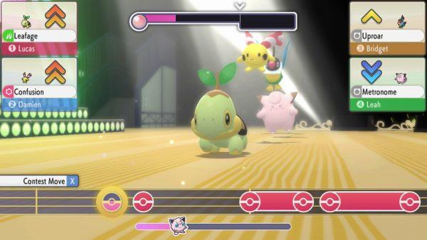Pokémon Contest with Turtwig