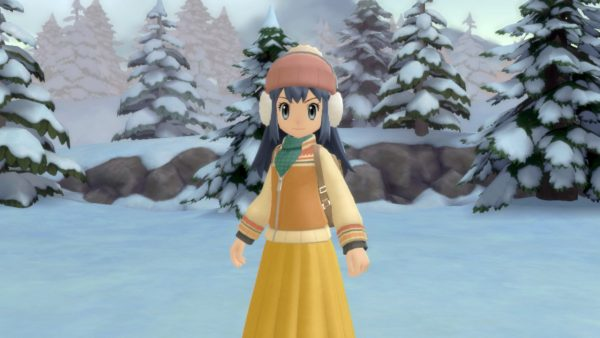 Winter outfit for Dawn