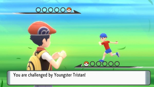 Battle against Youngster