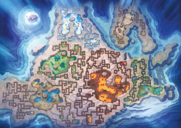 Map of the Grand Underground