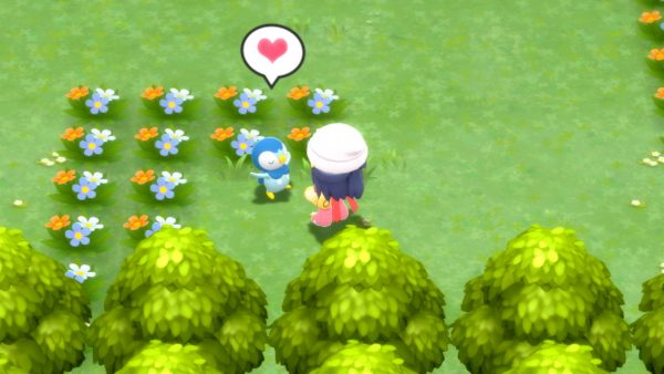 Piplup happy
