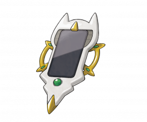 The Arc Phone, which definitely resembles Arceus