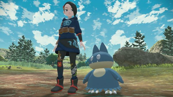 Mai and her Munchlax