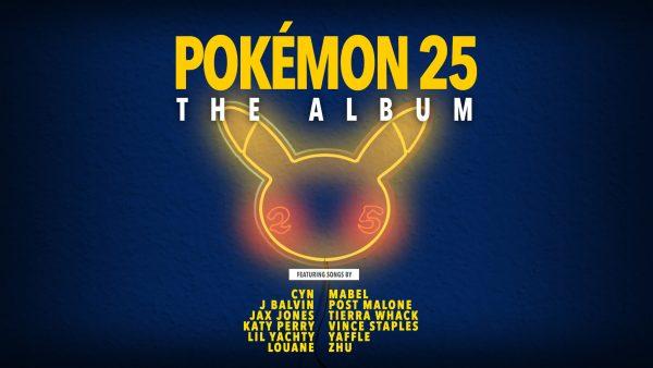 Pokémon 25 The Album with Featured Artists List
