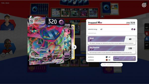 Much more detail of cards during gameplay