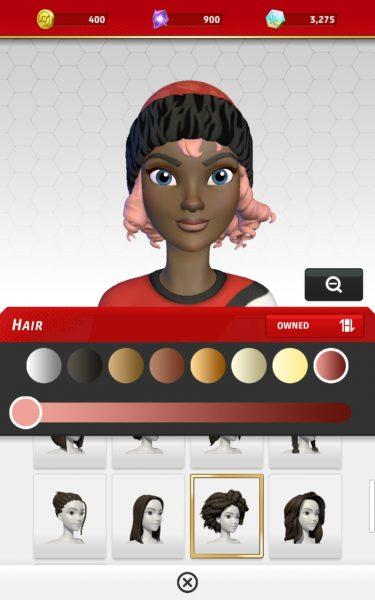 Avatar headshot on mobile