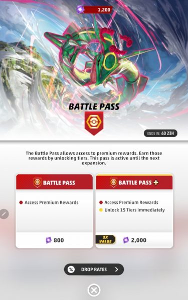 Battle Pass premium cost