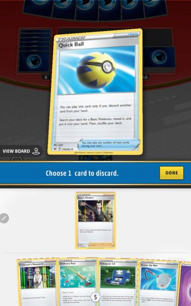 Choose a card to discard