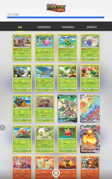 An expansion with lots of cards in it