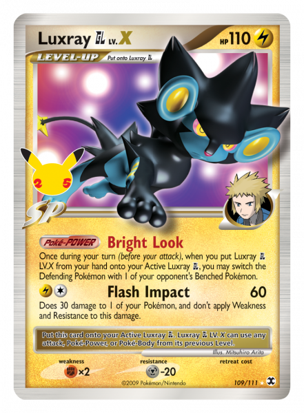 Luxray GL with Stamp