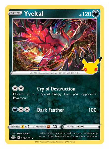 Yveltal Card